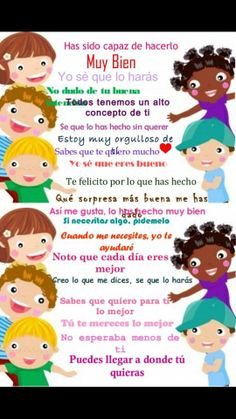 Cosas que deberíamos decir a los niños