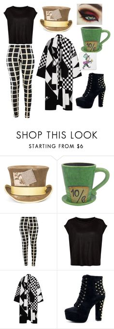 """Mad hatter"" by lovesky678 ❤ liked on Polyvore featuring Nick Fouquet, Disney, STELLA McCARTNEY and Mrs Moore"