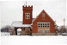The Station- Abandoned -Lansing Michigan