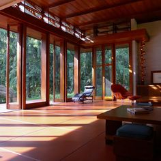 Bachman Wilson House. Somerset County, New Jersey.1954. Usonian Style. Frank Lloyd Wright.