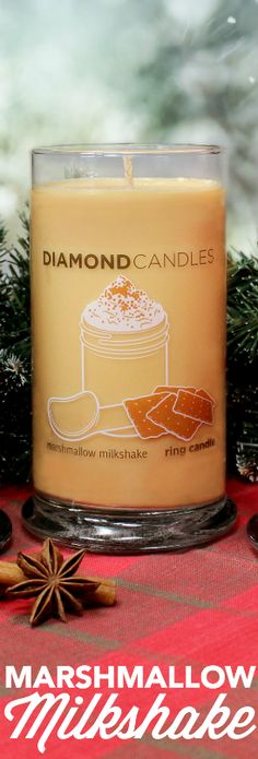 Marshmallow Milkshake Ring Candle is a wonderful cozy treat to have in the home this Christmas season!