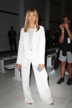 The Day She Dared to Give Menswear a Go in a Loose-Fitting Suit