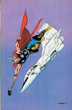 Thor by Rick Leonardi