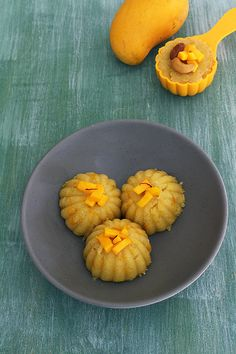 Mango halwa or mango sheera recipe - make the traditional sooji ka halwa more flavorful by adding mangoes in it. This is simple, quick and easy to make summer dessert. Mango Recipes, Chef Recipes, Sweets Recipes, Vegetarian Recipes, Cooking Recipes, Quick Easy Desserts, Sweet Desserts, Delicious Desserts, Quick Dessert