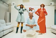 Andre Courreges. His unique, ultra modern looks were an absolute sensation in the sixties.    An engineer prior to his fashion career, Andre Courreges first worked under Cristobal Balenciaga  before starting his own house. His Space Age designs were uncluttered, futuristic, and functional. Clothes made by le Maison de Courreges were sharp, angular, almost aerodynamic. His creations were subject to highly disciplined design.
