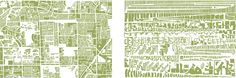 Armelle Caron made a graphic 'anagram' based on several city maps: this is Tamarac