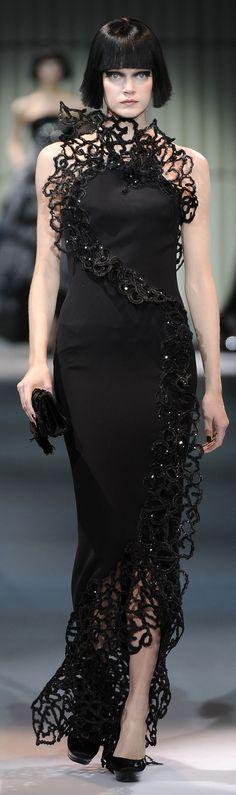 Armani Prive Haute Couture S/S 2009 Please visit our website @ www.steampunkvapemod.com