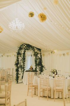Charlotte Chris Wedding On NYE 2015 Arch By Paperwhite Flowers Photography