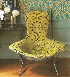 Harry Bertoia. Bird wing chair