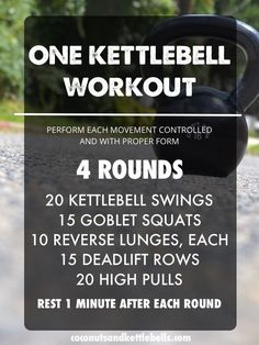 cool One Kettlebell Workout - Coconuts & Kettlebells