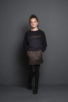 girls awesome sweater - black - Girls  | BY-BAR - Autumn | Winter 2017