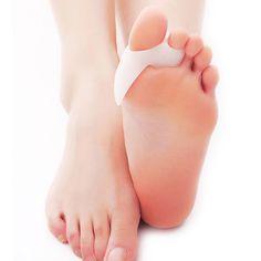 2Pcs=1Pair Silica Gel Hallux Valgus Corrector Toes Separators Foot