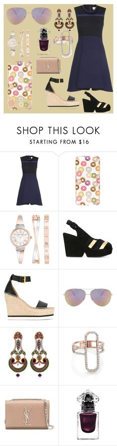 """""""be faster"""" by denisee-denisee ❤ liked on Polyvore featuring Victoria, Victoria Beckham, Milkyway, Anne Klein, Sonia Rykiel, See by Chloé, Victoria Beckham, Ayala Bar, Monica Vinader, Yves Saint Laurent and Guerlain"""