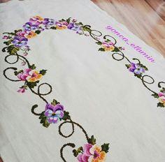 Cross Stitch, Cross Stitch Embroidery, Herb, Joy, Towels, Dots, Punto De Cruz, Seed Stitch, Cross Stitches