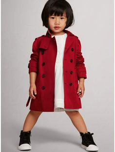 Burberry The Wiltshire Trench Coat  Burberrykids  trenchcoat  sponsored Burberry  Kids, Toddler Fashion 1192d113acb