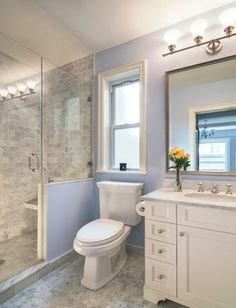 """""""Benjamin Moore Misty Blue"""" Design Ideas, Pictures, Remodel and Decor"""