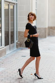 c3f4ae093f Brooks Brothers ponte dress | District of Chic Work Fashion, Travel Style,  Outfit Of