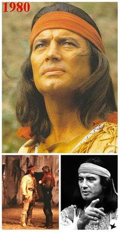 """Vinnetou Apač ve Vídni.  Včera tomu bylo 36 let (27.11.1980) co se v městské hale ve Vídni konala premiéra hry """"Vinnetou Apač"""".  A jak na to vzpomínal sám Pierre Brice:"""" kulisy byly úchvatné, na obrovském jevišti byla vytvořena dokonalá iluze. Můj kůň arab Juanito, byl velmi inteligentní a musel se při zkouškách naučit svůj part. V první scéně musel cválat po jevišti přes rampu a za kulisami vyběhnout na zvýšené pódium. Během jednoho vystoupení jsem hlavou narazil do podpěrného trámu. A já v…"""