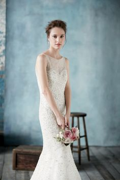 Wedding dress from Allure Bridals from our new Spring 2014 issue! | Sergio Kurhajec
