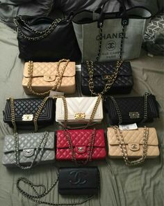 37cb011422d7 One Big Happy Family: Check Out Our PurseForum Members' Epic Chanel Family  Bag Portraits handbags for fall