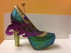 Purple, green and gold baby!  Muses shoe 2014  created by Glitter365