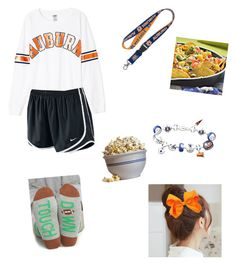 """game in 20 minutes!!"" by ponyboysgirlfriend ❤ liked on Polyvore featuring NIKE, WinCraft, Arthur George, Waring, Pin Show and The Bradford Exchange"