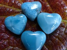 Larimar hearts CalmingSoothingFeminine power by MagicaLuna on Etsy