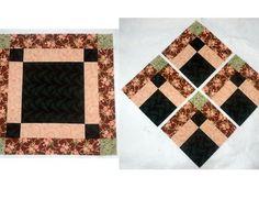 Desaparecimento Bento Box Quilt Block Pattern