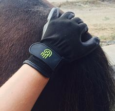 New equestrian grooming company HandsOn Gloves is redefining the way you groom. I'm sure you are thinking, it's just another grooming glove, right? HandsOn has taken an innova… Equestrian Gifts, Gloves, Velvet