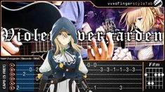 Violet Evergarden OP Sincerely Cover (Fingerstyle Cover) -【TAB & Chord】G...