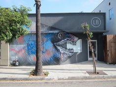 SHARK TOOF http://www.widewalls.ch/artist/shark-toof/ #sharktoof #graffiti #mural #urbanart #streetart #CulverCity