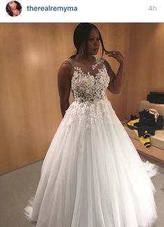 Remy ma wedding dress that didn't make the cut. I love this dress, who's the designer? I'm soo in love