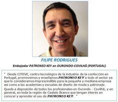 Embajador PATRONEO KEY en OURONDO-COVILHÄ (PORTUGAL)