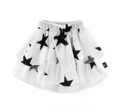 layered star skirt in white Skirts For Kids, Kids Fashion, Fashion Outfits, Drawstring Waist, My Girl, Dress Skirt, Kids Outfits, Layers, Ballet Skirt