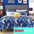 Teen Vogue Something Blue Comforter Sets - Teen Bedding - Bed & Bath - Macy's Teen Vogue Bedding, Blue Painted Walls, Blue Comforter Sets, Grey Headboard, Bedding Collections, Bed Design, My Room, Teen Vogue, Bedrooms