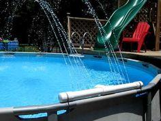 Diy Pool Fountain Pool Stuff Pinterest Google Sands
