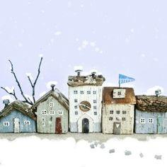 Пусть идёт снег  пятнышки внизу - это слон ходил  ❄❄❄❄❄❄❄❄❄❄❄❄❄❄ Let it snow  . #letitsnow #зима #снегопад #домики #новогоднийподарок #издерева #дрифтвуд #подарочки #елочка #новыйгод2018 #ленатом #ручныедомики_ленытом #любимыйпраздник #праздниккнамприходит #подаркиручнойработы #littlehouse #hendmade #handmadewithlove #driftwood #instacraft #livemaster #ярмаркамастеров #рукоделие #городок #сказка #миниатюра #miniature #sweethome #мечтать