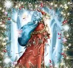 Animated Christmas Tree, Merry Christmas Gif, Merry Christmas Pictures, Christmas Scenery, Merry Christmas And Happy New Year, Christmas Music, Christmas Greetings, Christmas Time, Vintage Christmas