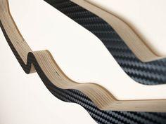 Circuit Gilles Villeneuve Canadian Formula One Grand Prix Racing Track Art Sculpture Close Up in a Carbon Finish
