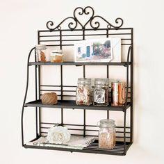 Decorative Heart Wall Shelf from notonthehighstreet.com