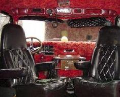 Custom Van Interiors | this is where the psycho sits in his van