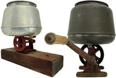 Following separation butter churns were used to churn cream into butter. Cream was added to the churns and turning the handle would move a paddle inside. Water and salt was added at certain intervals. Churning Butter, Virtual Museum, Paddle, Decorative Bells, Avon, Turning, Household, Salt, Gems