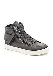 Grey Lace up Side Zip Detail Trainer Boot Trainer Boots, High Tops, Trainers, High Top Sneakers, Lace Up, Zip, Detail, Grey, Womens Fashion