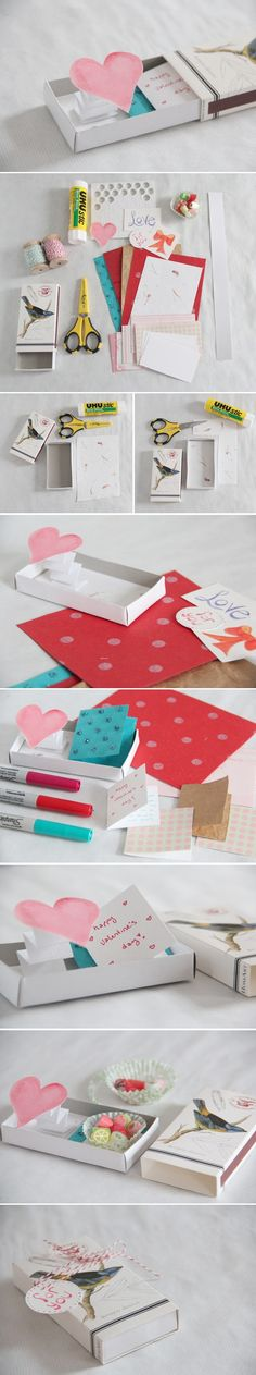DIY Pop-Up Love Box