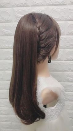 Easy hairstyles for medium hair quick braided video 70 Super DIY Hairstyle Ideas. - Easy hairstyles for medium hair quick braided video 70 Super DIY Hairstyle Ideas For Medium Length# - Front Hair Styles, Medium Hair Styles, Hair Styles Easy, Hair Braiding Styles, Cute Hairstyles, Wedding Hairstyles, Hairstyle Ideas, Hairstyle Short, Side Braid Hairstyles