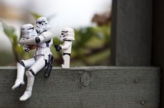 Aren't you a little short for a stormtrooper? by Kalexanderson, via Flickr