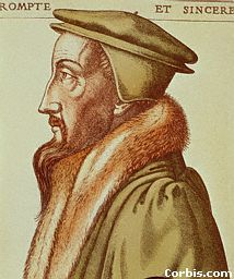 Calvin was a Frenchman The HUGUENOTS, were French Protestants, followers of John Calvin. In 1559, the protestants founded a Presbyterian church in France, which soon became one of the nation's most industrious and economically advanced elements. They emerged victorious over Roman Catholic forces in the Wars of Religion (1562-98) - also called the Huguenot Wars.