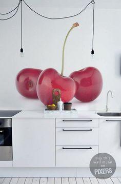 10 fotomurales para la cocina