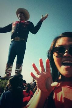 Even Big Tex is #Baylor proud! #SicEm #BaylorEverywhere