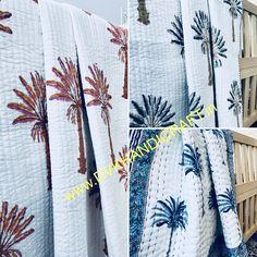 Kantha Stitch, Kantha Quilt, Cotton Quilts, Baby Quilts, Handicraft, Printed Cotton, Natural, Handmade, Craft